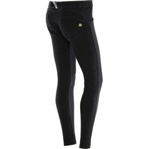 Freddy WR.UP® Low Waist Skinny housut, Musta, S