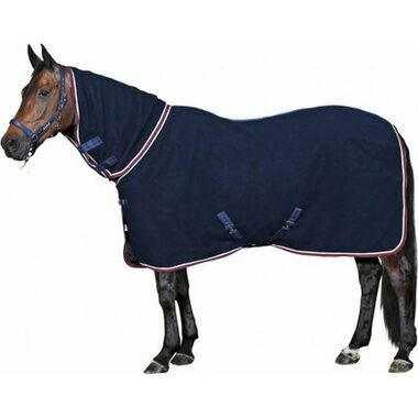 Horse Guard Full Neck villaloimi, Navy, 145cm