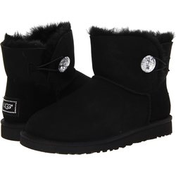UGG Mini Bailey Button Bling jalkineet