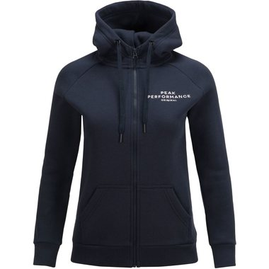 Peak Performance W Logo Zip huppari